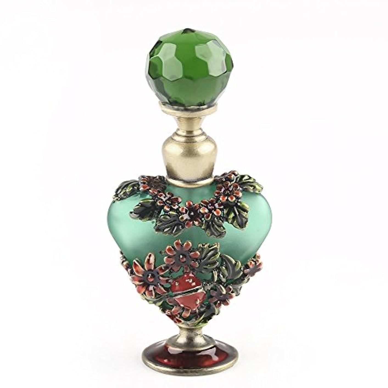 約束する法律定期的にVERY100 高品質 美しい香水瓶/アロマボトル 5ML アロマオイル用瓶 綺麗アンティーク調 フラワーデザイン プレゼント 結婚式 飾り 70292