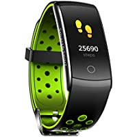 "Jojckmen Z11 Intelligent Bracelet 0.96"" LCD Display Heart Rate Monitoring Wristband Blood Pressure Blood Oxygen Testing Fitness Band"
