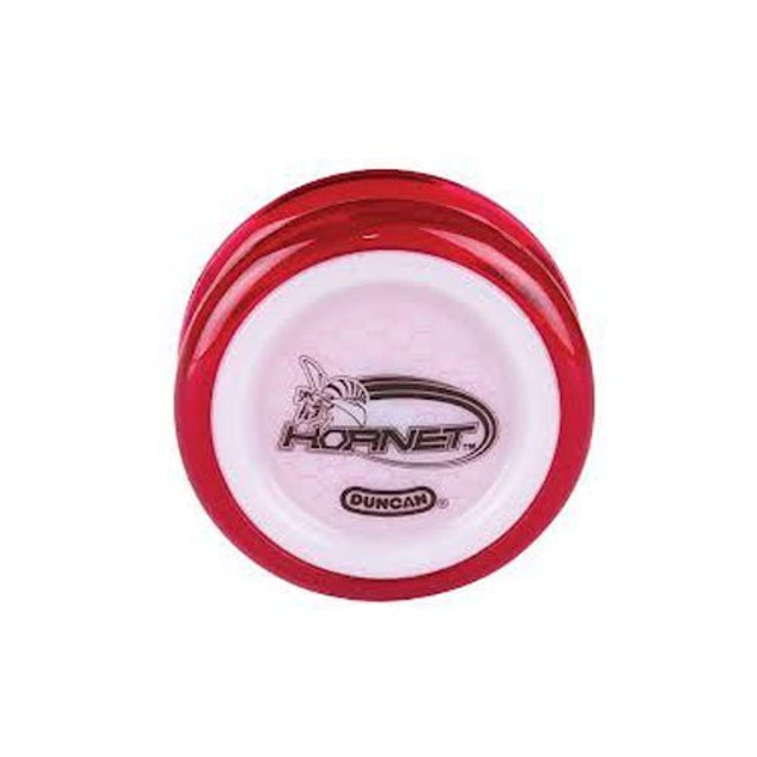 Duncan Hornet Yo-Yo - Translucent Red with White Caps by Duncan [並行輸入品]