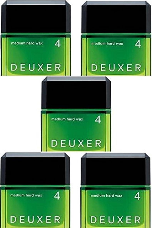 ラバ公式電池【X5個セット】 ナンバースリーデューサー ミディアムハードワックス4 80g(スタイリングWAX)