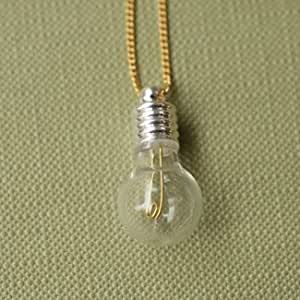 Aquvii Light Bulb Necklace