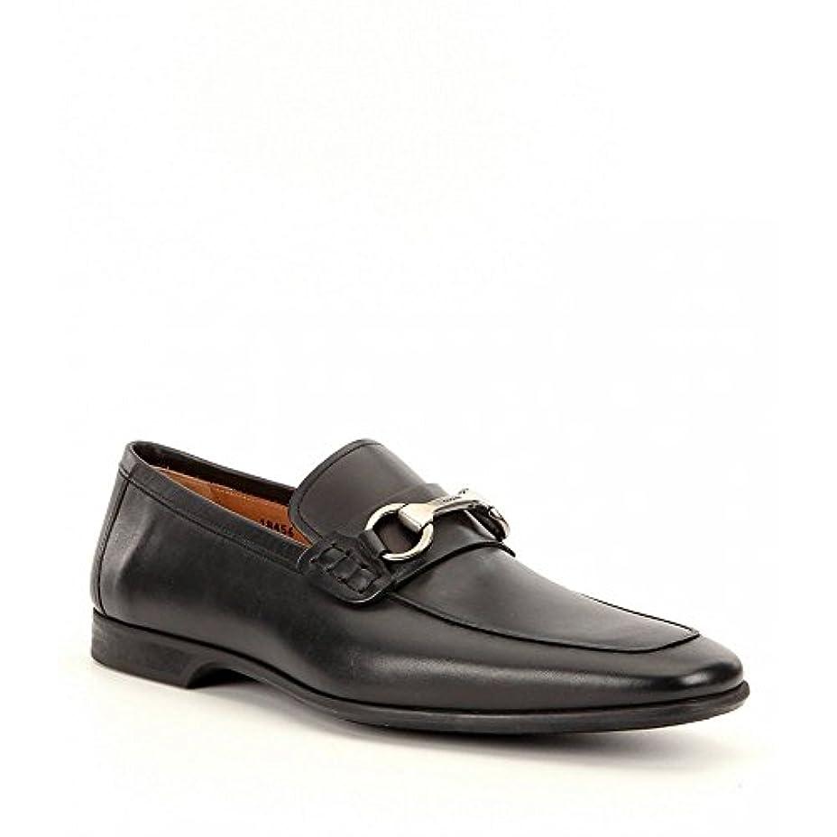 手伝う賃金乱気流(マグナーニ) Magnanni メンズ シューズ?靴 革靴?ビジネスシューズ Rafa 2 Leather Bit Buckle Detail Moc-Toe Dress Shoes [並行輸入品]
