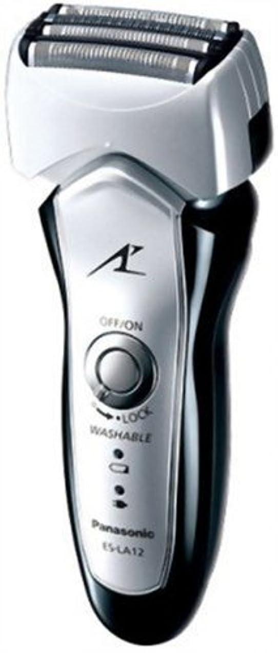 溶接指類似性Panasonic ラムダッシュ4枚刃 シルバー調 ES-LA12-S