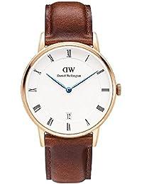 (ダニエルウェリントン)Daniel Wellington レディース DW00100091(1130DW) Dapper St Mawes 34mm 腕時計 レザーバンド カラー/ローズゴールド サイズ/ [並行輸入品]