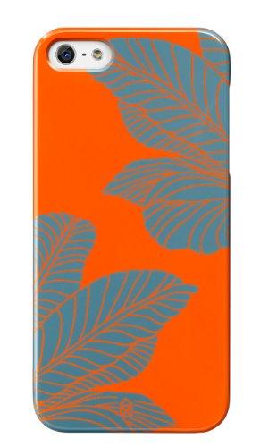 Case Scenario Girl Cover for iPhone 5s/5 Blue Leaf Case Scenario