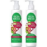 Fresh Monster Toxin-free Hypoallergenic 2-in-1 Kids Shampoo & Conditioner, Watermelon, 2 Count