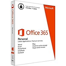 Microsoft Office 365 Personal |1 User | 1 Year subscription | PC/Mac