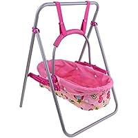 Baoblaze 模型 人形玩具 リアル 幼児人形 赤ちゃん人形のため 揺りかご 2色選ぶ - ピンク