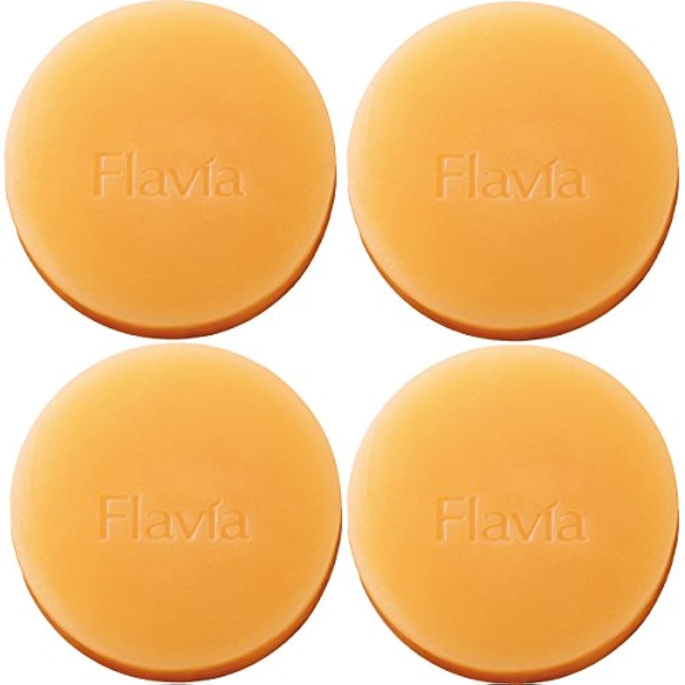 バイソン戦う製油所フォーマルクライン 薬用 フラビア ソープ 4個セット(夜用2個×2セット) 洗顔 石けん