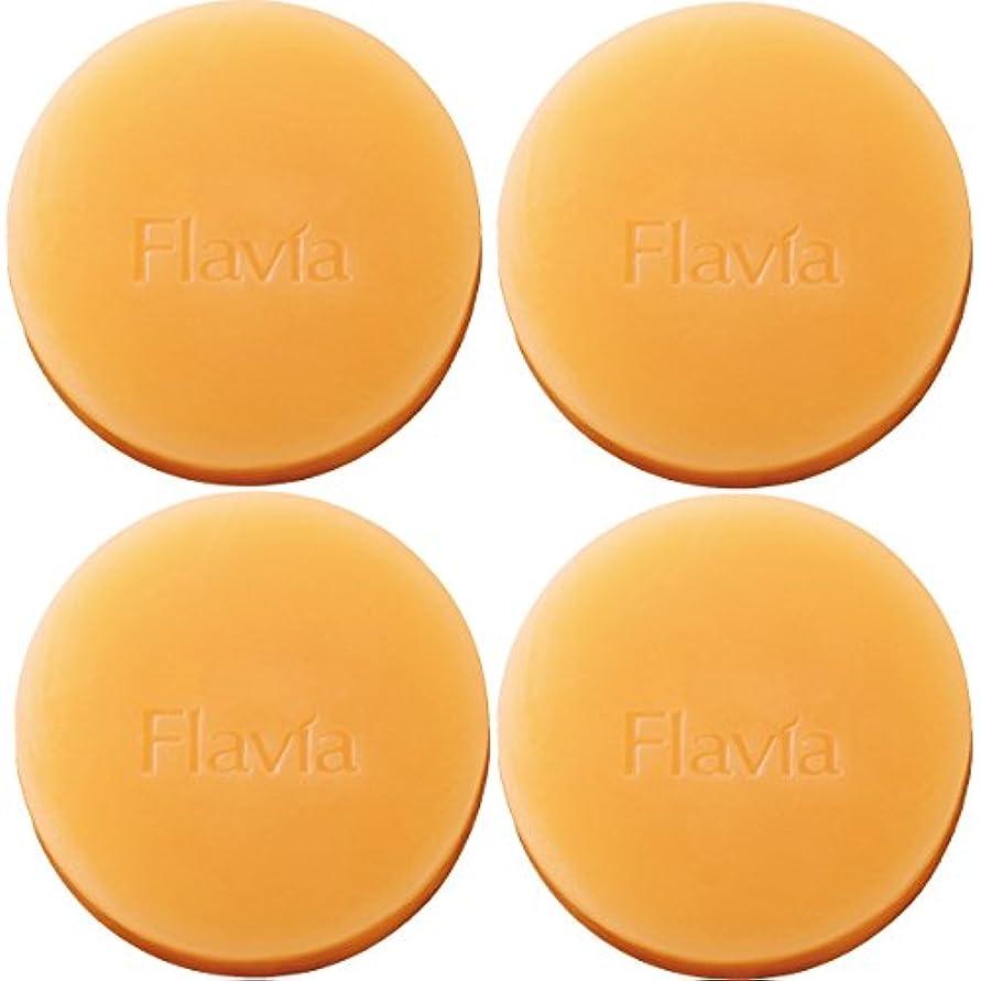 安心コマンド有限フォーマルクライン 薬用 フラビア ソープ 4個セット(夜用2個×2セット) 洗顔 石けん