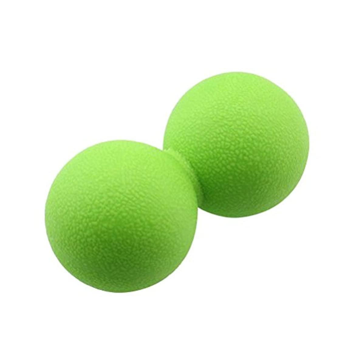 VORCOOL マッサージボール ストレッチボール ハードタイプ トリガーポイント トレーニング 背中 肩こり 腰 ふくらはぎ 足裏 ツボ押しグッズ スーパーハードタイプ 筋肉痛を改善 運動前後(緑)