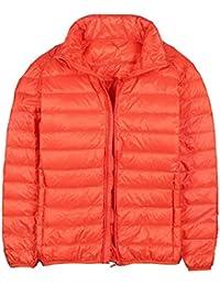 Femaroly秋と冬軽量パックダウンダウンジャケットスタンド男性と男の子のコート
