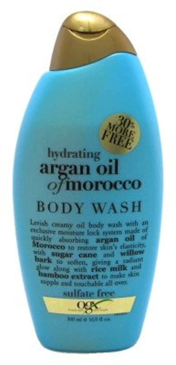 Organix Hydrating Moroccan Argan Oil Creamy Oil Body Wash 16.9 FL OZ by Organix