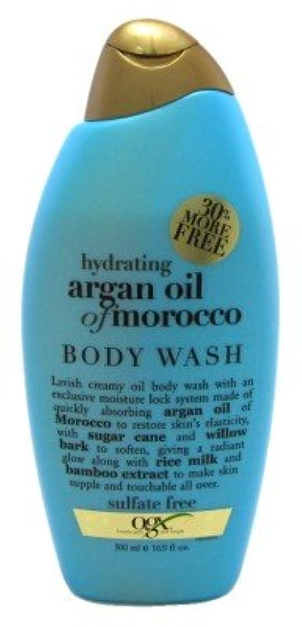 拳みがきます矢Organix Hydrating Moroccan Argan Oil Creamy Oil Body Wash 16.9 FL OZ by Organix