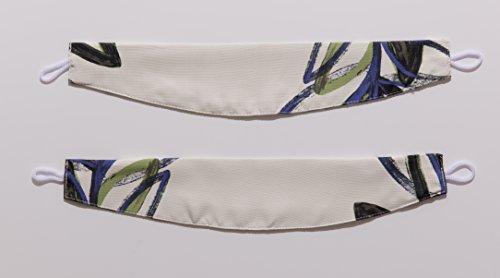 ナイスデイ IN-FA-LA 北欧デザイン 遮光カーテン 枚組(遮熱 保温 形状記憶) 100×00cm グリーン 487563