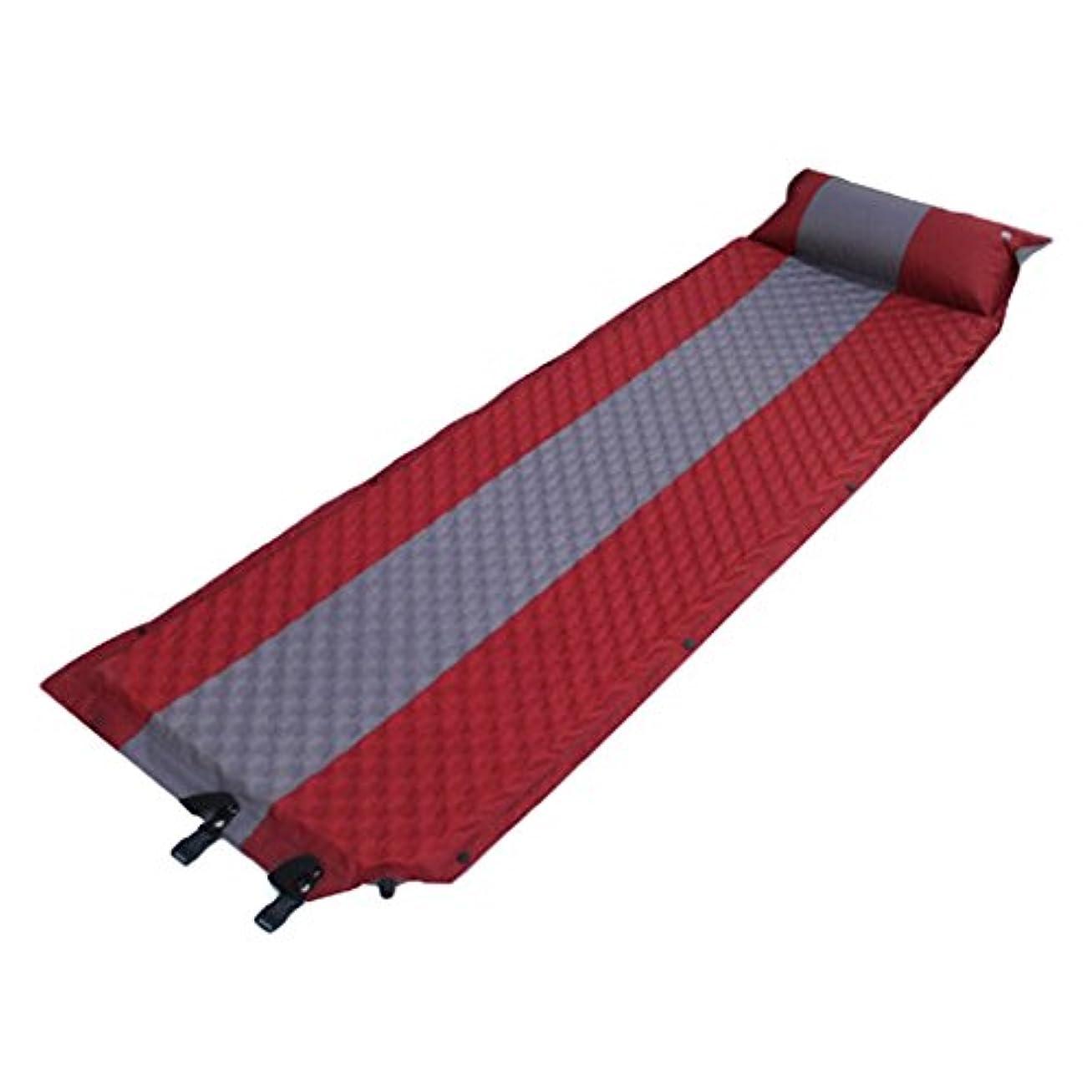 校長先駆者熟達DYNWAVE 屋外 キャンプ マット 睡眠マット 枕 インフレータブルパッド 防水 軽量 自己膨張
