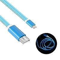 Geabonは電話充電ケーブル、電話ケーブルコード(ライトブルー)と互換性があります
