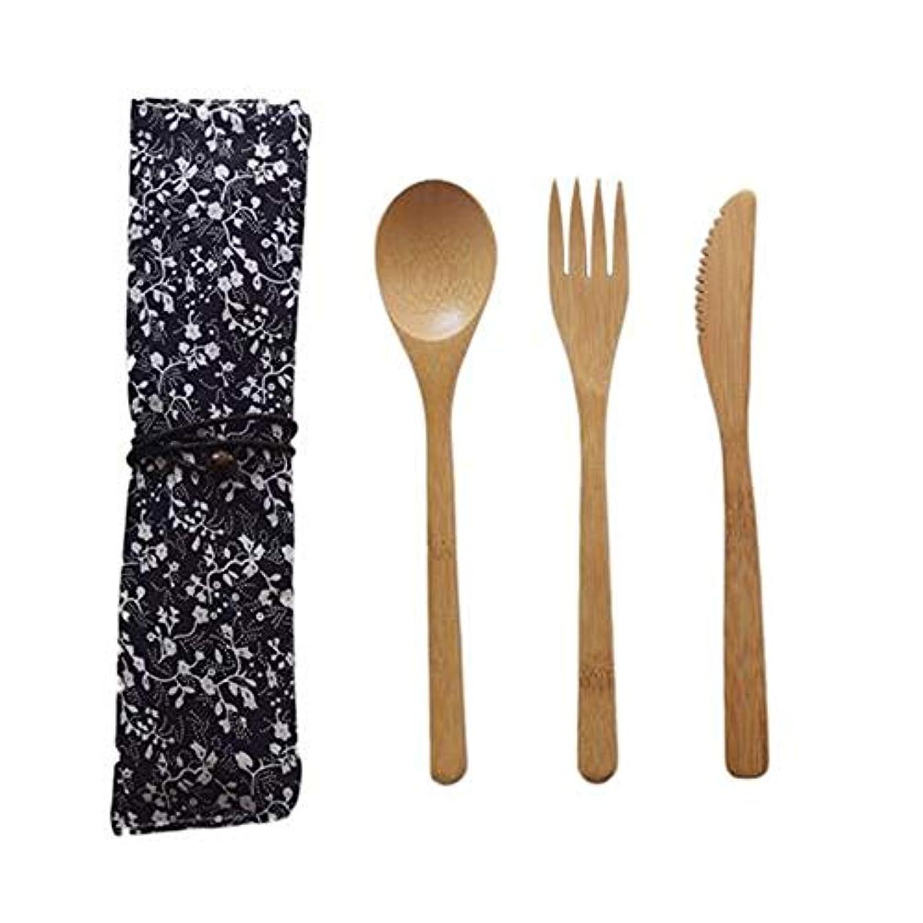 驚くべきハンカチ静かなシンプル 和風食器 天然木製 箸 スプーン フォーク 安全性 無毒性 大人 子供用 お弁当 便利 アウトドア 携帯