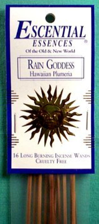 夫婦続ける作り上げる雨Goddess Escential Essences Incense Sticks