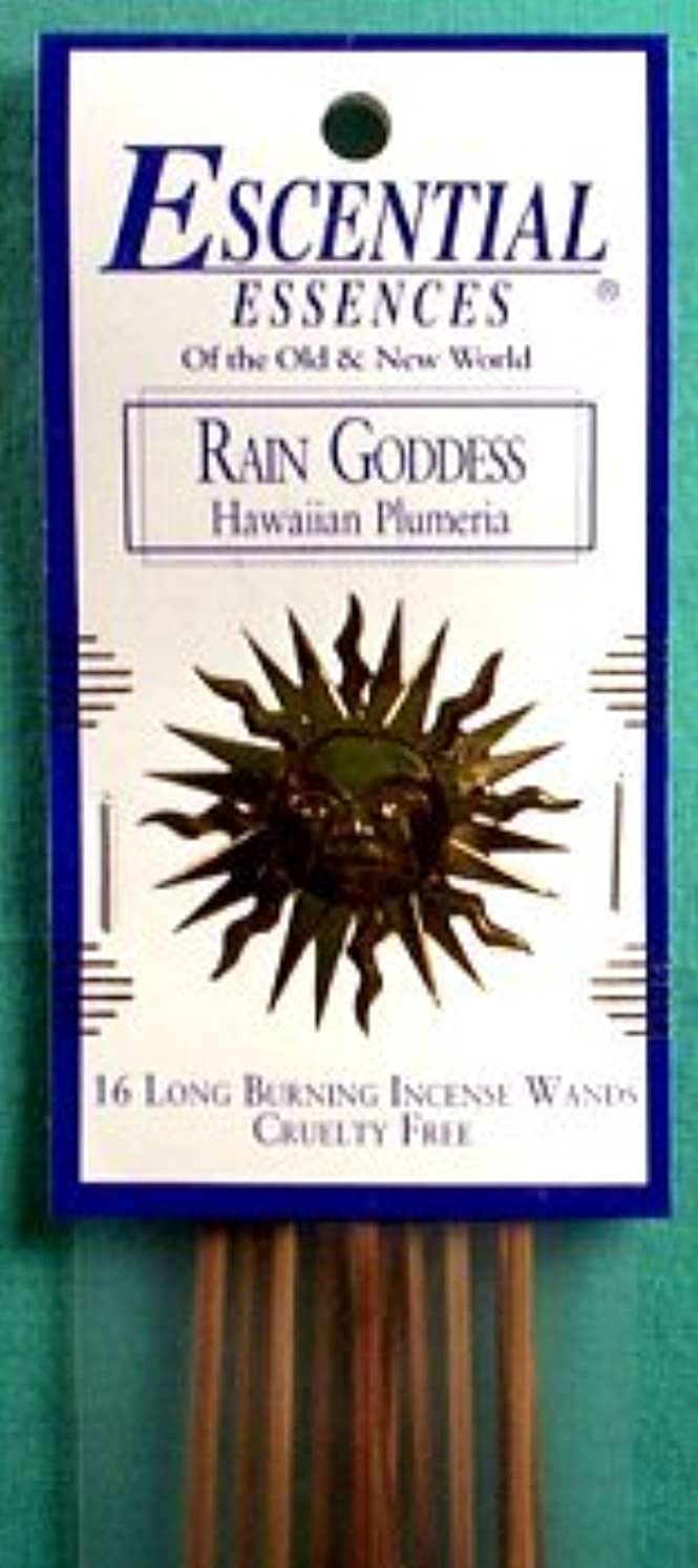 ティーンエイジャー小切手空洞雨Goddess Escential Essences Incense Sticks