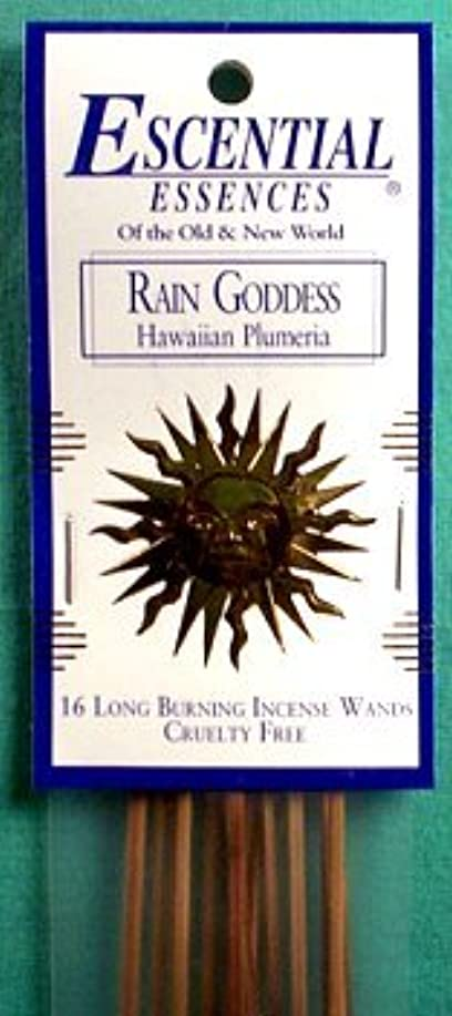 赤面死傷者ダーリン雨Goddess Escential Essences Incense Sticks
