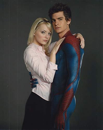 大きな写真「アメイジング・スパイダーマン」エマ・ストーン、アンドリュー・ガーフィールド、The Amazing Spider-Man