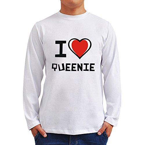 I love Queenie ロングスリーブTシャツ