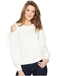 [ワンステイト] レディース パーカー?スウェットシャツ Cold Shoulder Blouson Sleeve Sweatshirt [並行輸入品]