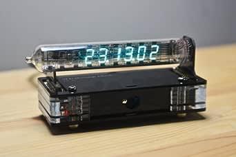 蛍光表示管モジュラー時計 IV-18(ケース付き、時計ハンダ付けキット)