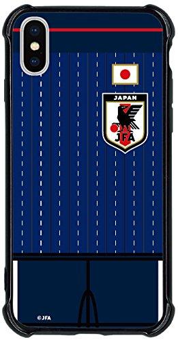 コギト(Cogito) スマートフォンカバーハイブリッドタイプF サッカー日本代表ver. CHB-0006JF iPhoneX