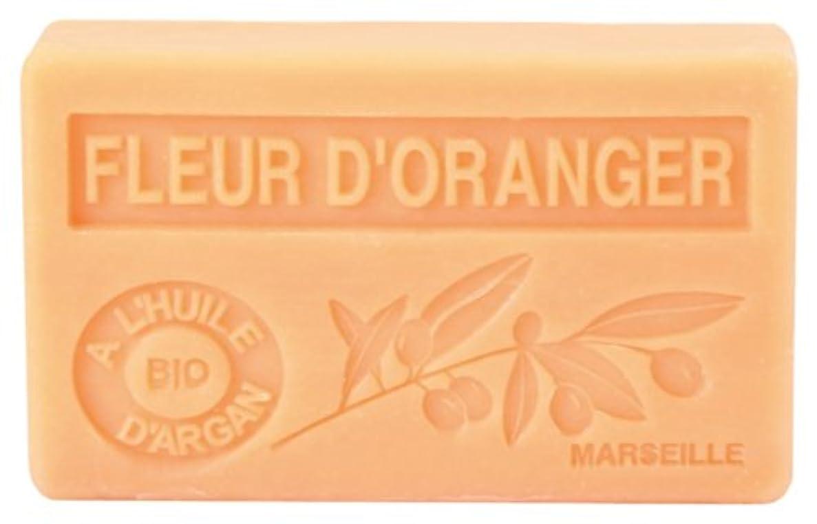 昇る袋隔離するノルコーポレーション アルガン石鹸 ラ?メゾン?ド?マルセイユ プロヴァンス OB-PVP-1-3 オレンジフラワーの香り 90g