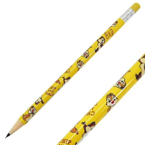 チップ&デール[シャープペン]鉛筆型 シャープペンシル/文具 ボーダー ディズニー