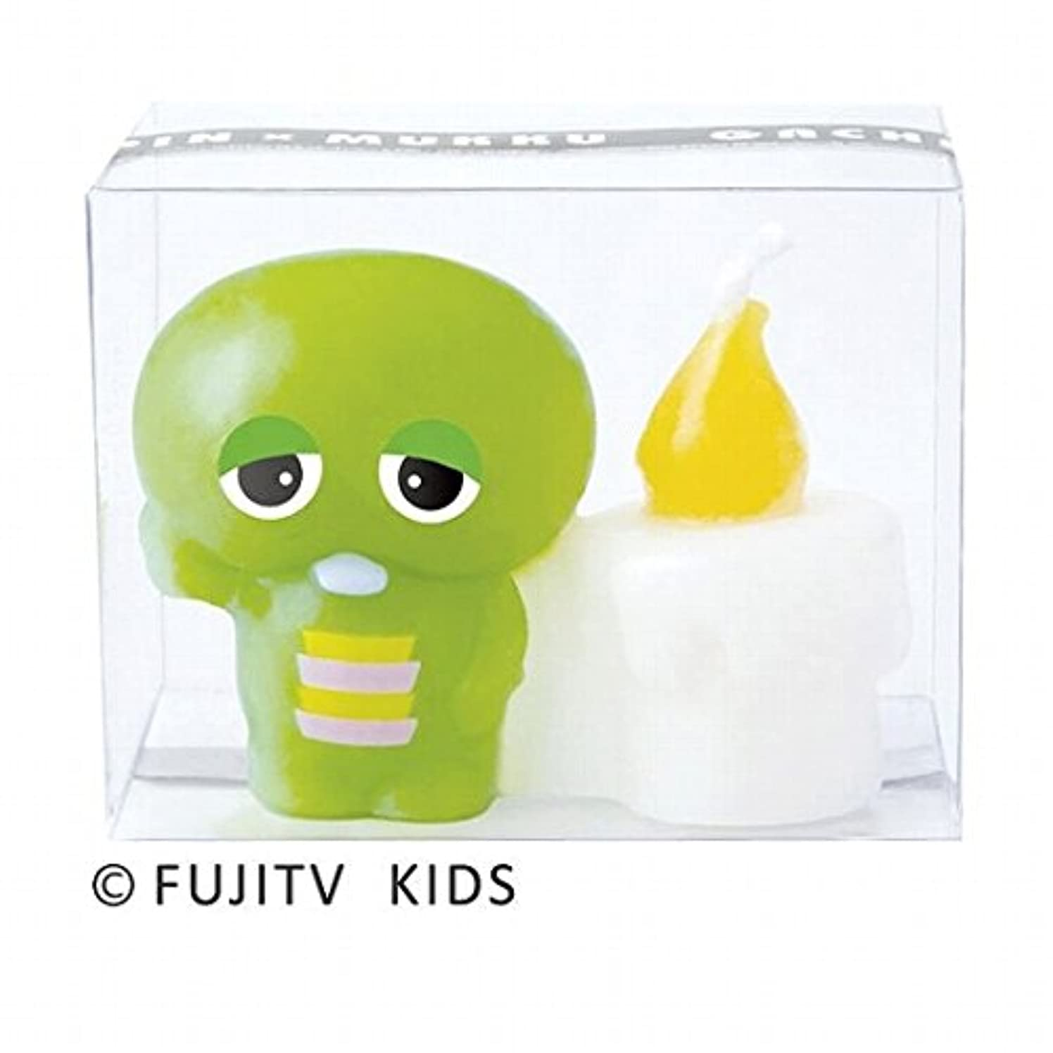 エンドウ余裕がある回るカメヤマキャンドル( kameyama candle ) ガチャピンキャンドル