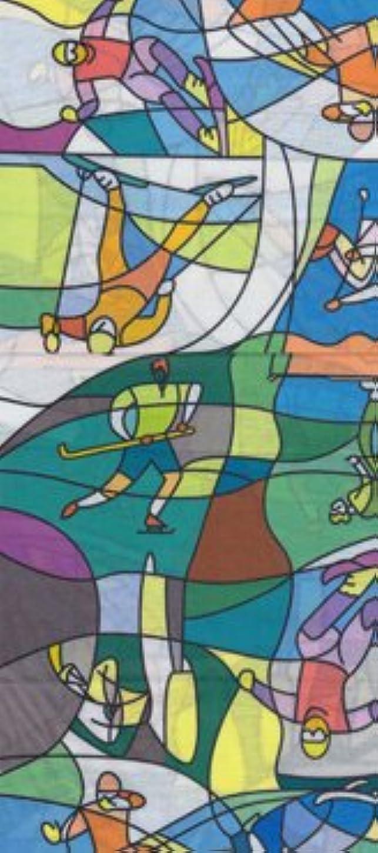 暴露するシャッフルお祝い多機能チューブ バンダナ フェイスマスク ヘアバンド 自転車 アウトドア 017