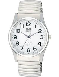 [シチズン Q&Q] 腕時計 SOLARMATE (ソーラーメイト) H970-214 シルバー