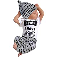 Happy Town Baby Boy T-Shirt Clothes Shark and Print Summer Cotton Sleeveless Outfits Set Tops and Short Pants