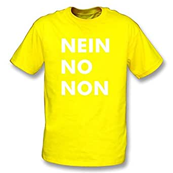 Nein No Non (As worn by Thom Yorke of Radiohead) Tシャツ