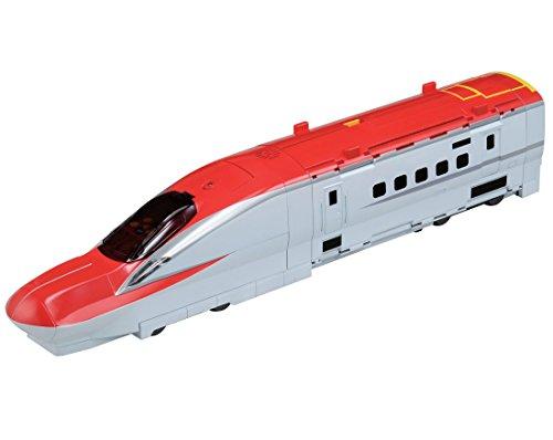プラレール 新幹線変形! メガデカE6系ステーション 初回版