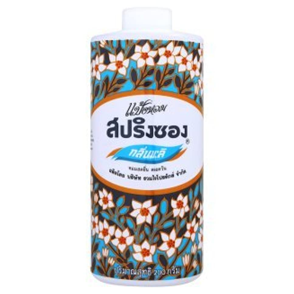 探検憂慮すべき吸収Spring Song Mali Scent Talcum Powder from Thailand 150 G.