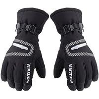 スポーツcold-proof手袋、ブラック暖かいグローブSuitable for Ridingハイキング、登山、