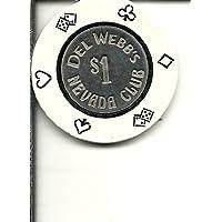 $ 1ネバダ州del WebbのヴィンテージClubカジノチップLimited