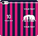 iPhone/Xperia/Galaxy/他機種選択可:部活/好きな番号/文字をカスタム/サッカー手帳ケース(デザイン1:JP_04) 13 全機種対応用【Sサイズ】