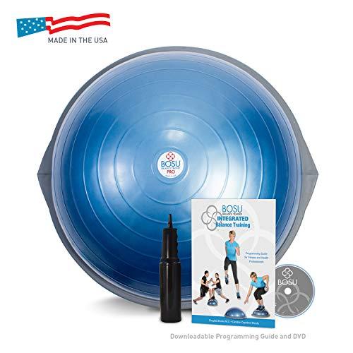 BOSU BALL バランスボール プロバージョン 65cm (6. Pro 65cm ブルー) ジム利用 プロ仕様 [並行輸入品]