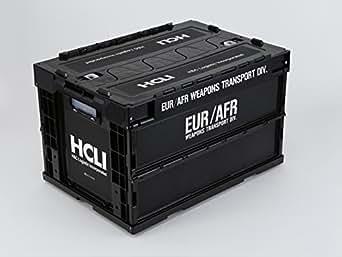 ヨルムンガンド HCLI 折りたたみコンテナ ブラック