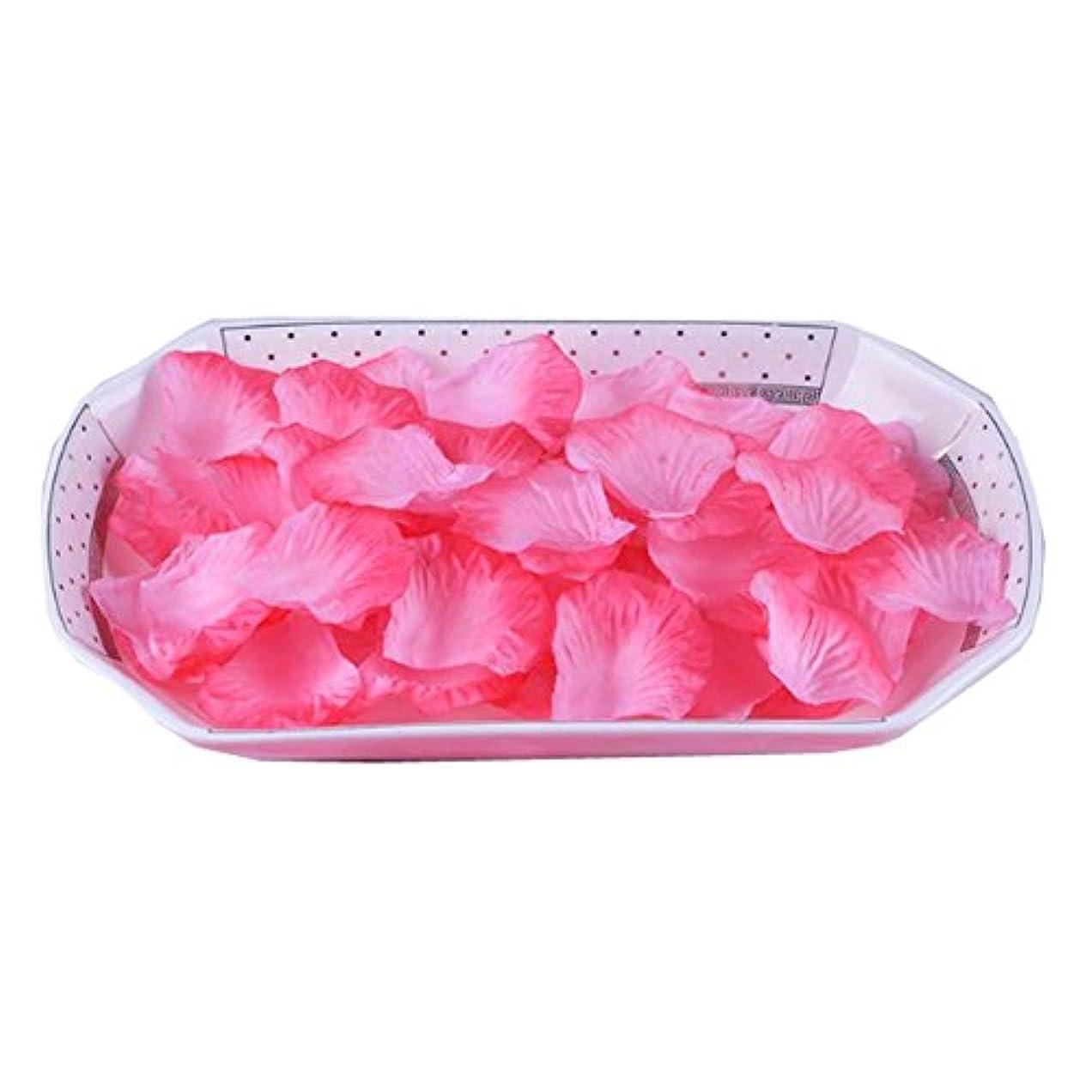 意識的予感熟達した結婚式3000台の人工ローズ花びらの花びら