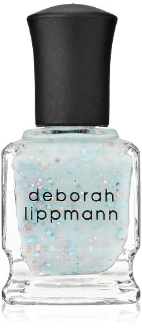 手当悲観的取得[Deborah Lippmann] デボラリップマン グリッター イン ジ エアー/GLITTER IN THE AIR 透明感のあるクリーミーな水色のベースに ピンクとブルーのラメが入るかわいいカラー ふんわりした印象...