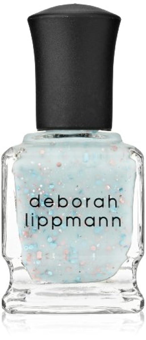 背景挑発する予測子[Deborah Lippmann] デボラリップマン グリッター イン ジ エアー/GLITTER IN THE AIR 透明感のあるクリーミーな水色のベースに ピンクとブルーのラメが入るかわいいカラー ふんわりした印象...
