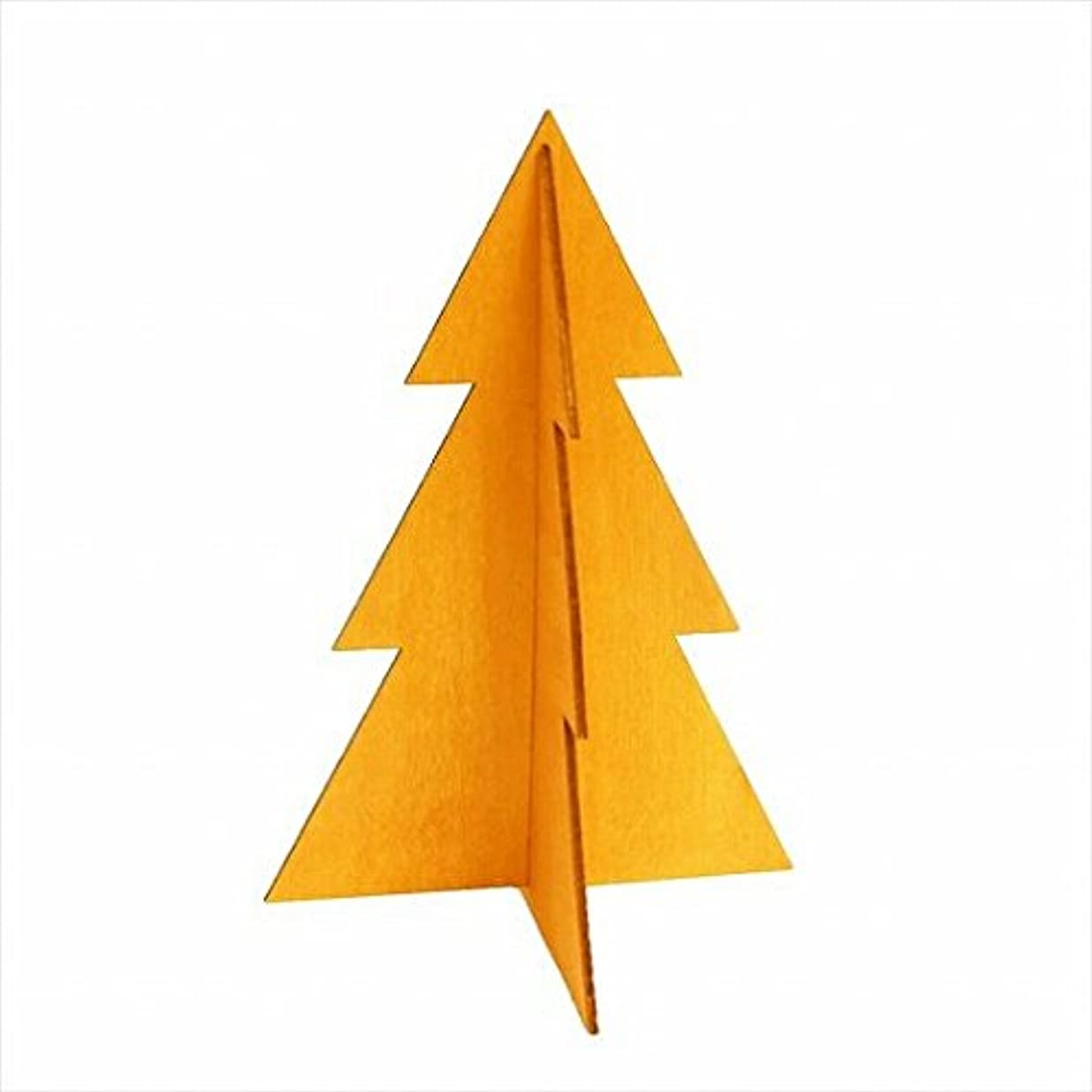 建設デモンストレーションゆりかごカメヤマキャンドル(kameyama candle) フェスティブツリーM 「 オレンジ 」