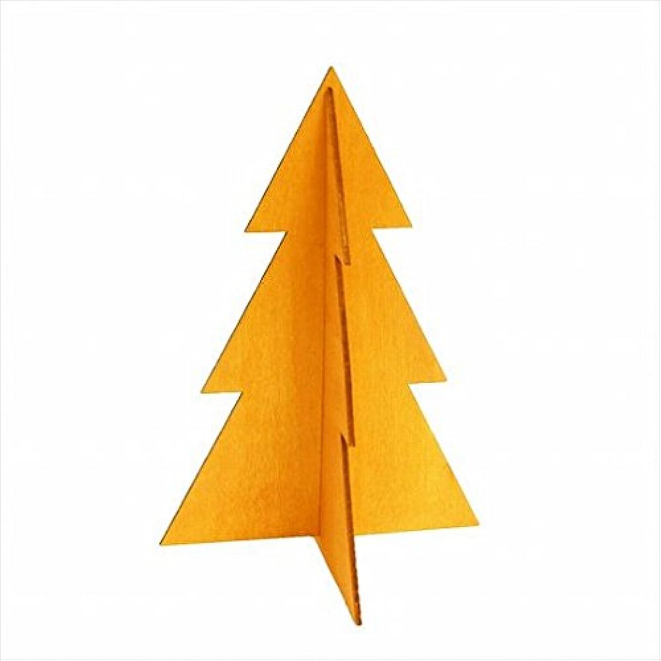バッグまたね補足カメヤマキャンドル(kameyama candle) フェスティブツリーM 「 オレンジ 」