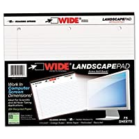 ROA95510 - Roaring Spring Landscape Format Writing Pad by Roaring Spring